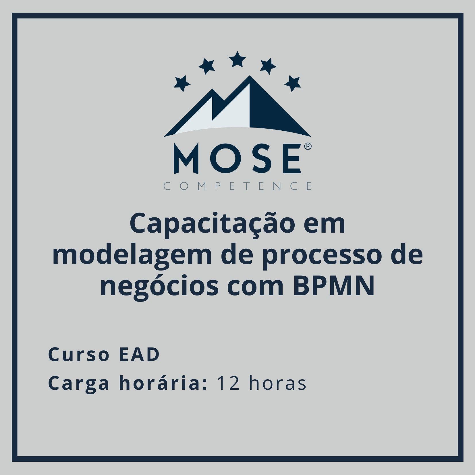Capacitação em modelagem de processo de negócios com BPMN